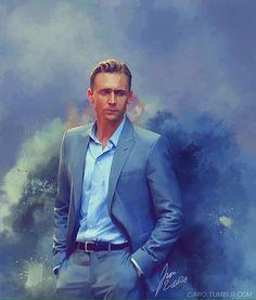 Tom Hiddleston art 'The Night Manager'