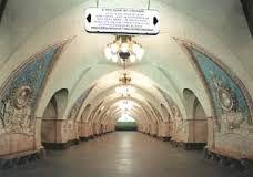 Risultati immagini per Stazione Metropolitana di Mosca