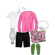 Summer Fun, created by bstrong00 on Polyvore - An outfit made for shopping!