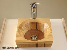 Wooden Bathtub, Wooden Bathroom, Wooden Kitchen, Wood Sink, Wood Vanity, Vanity Sink, Cuba, Guest Toilet, Public Bathrooms