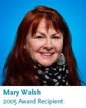 Mary remains a force to be reckoned with as a performer and a social activist working to eliminate poverty, supporting the Canadian National Institute for the Blind and breaking down the stigma surrounding mental illness and addiction. She received a CAMH Transforming Lives Award in 2005