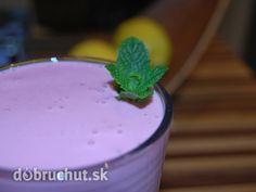 Fotorecept: Raňajkové ovocné smoothie - Super rychly, super syty a hlavne super chutny... ;)