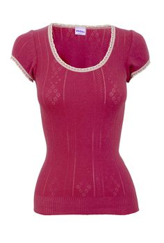 Cap sleeve scoop neck in cotton and silk looks wicked comfortable.