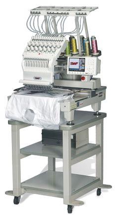 commercial monogramming machine