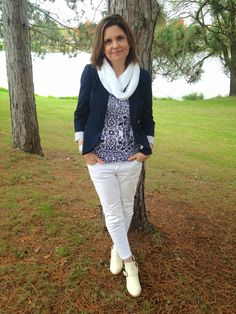 Amy's Creative Pursuits:  Classic Blue and White