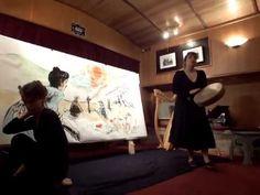 Lecture illustrée de L'Homme Semence Laëtitia Rouxel et Mandragore Laetitia, Harp, Concerts, Puppets, The Voice, Dancing, Woman, Music, Reading