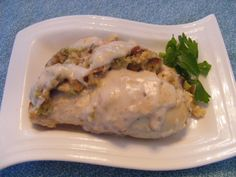 Make and share this Stove Top Stuffed Chicken Breasts recipe from Food.com.