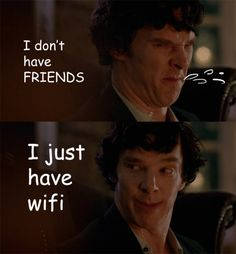 Same here. But i also have Sherlock and the Doctor :)