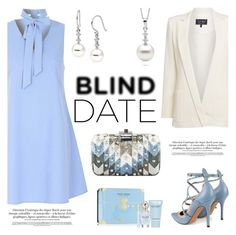"""""""What to Wear: Blind Date"""" by pearlparadise ❤ liked on Polyvore featuring Glamorous, Armani Jeans, Valentino, Judith Leiber, Marc Jacobs, women's clothing, women, female, woman and misses"""