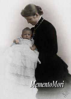Kaiserin Augusta Viktoria of Prussia with firstborn son Wilhelm