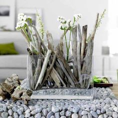 Driftwood Craft Ideas For Driftwood Lovers To DIY At Home : Beach Decor