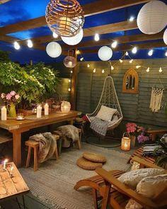 Outdoor Spaces, Outdoor Living, Outdoor Decor, Backyard Patio Designs, Patio Ideas, Backyard Shade, Garden Ideas, Patio Shade, Backyard Lighting