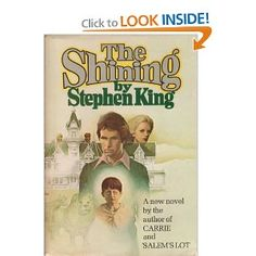 The Shining - originally read this at 14.  Reading again to prep for the sequel...Doctor Sleep
