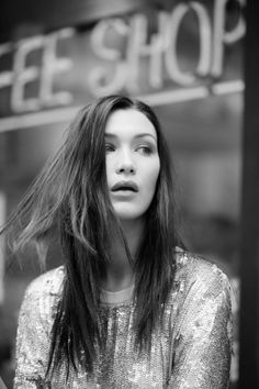 "habitualllll: "" Bella Hadid - Evening Standard UK November 2015. Photograper: Stephanie Raffaneli "" B&W fashion blog"