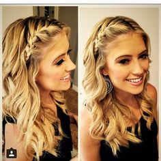 Potential hair for when I'm a bridesmaid