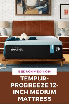 Showcasing a three-level system of cutting-edge materials that work together from cover to core to keep you cool all night long. TEMPUR-PRObreeze mattress.