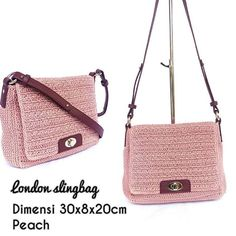 Limited   London slingbag  Peach..realpict  225 ribu  fix keep = transfer  #tasrajut #tassantai #tasslempang #peach #crochetlover #crochetbags #fashioncantik #fashionwanita #fashionbag #handmadebags #slingbag #jualtas #olshoprajut #olshopready #fashion #yogyakarta #airatasrajut #alhamdulillahforeverything