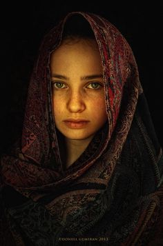 Portrait by donell gumiran Beautiful Fantasy Art, Beautiful Eyes, Photography Women, Beauty Photography, Jesus Photo, Baroque Painting, Face Pictures, Portrait Lighting, Drawing Reference Poses