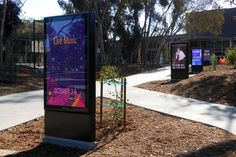 University of California, San Diego the First Campus to Receive Daktronics New Digital Street Furniture LED Displays