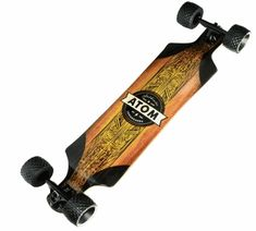 Atom Longboards Atom All-Terrain Longboard - Woody Skateboards, Snorkeling, Snowboarding, Offroad, Woody, Outdoor, Diving, March, Off Road