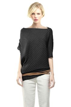 MAXSTUDIO.COM Twisted Rib Sweater
