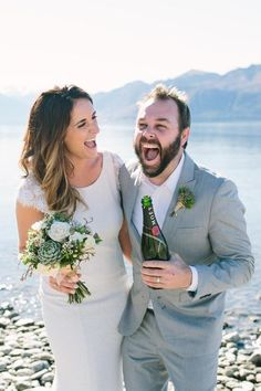Lake Wanaka the only New Zealand wedding in Australian wedding of the year competition