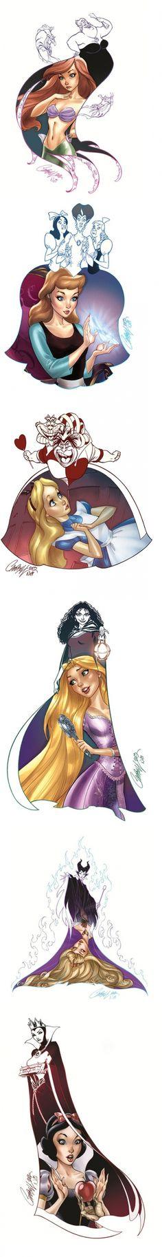 Beautiful art by comic book artist J. Scott Campbell