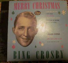 a decca 78 rpm 4 record set bing crosby andrews sisters merry christmas album 1945