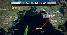 She Tossed A Message In A Bottle Into The Sea 40 Years Ago. Guess Where It Ended Up?