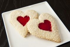 Strawberry Heart Sugar Cookies: Make this Thursday extra sweet