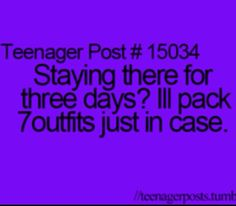 And then ends up only wearing 3 outfits