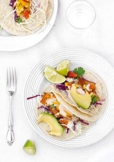 Pan fried Fish Taco by 1-2 Simple Cooking.