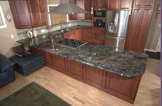 """Labradorite"" Kitchen countertop"