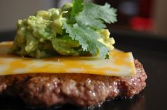 Introduce your grill to Laura's Lean Beef Guacamole Burgers!