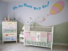 @Nikki Byrd Cunningham cute ideas for a dr. seuss nursery