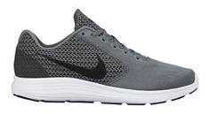 Nike Men's Revolution 3 Cool Grey/Black/White Running Shoe 11 Men US