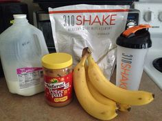 Best 310 shake recipe I've tried so far! 1 scoop vanilla 310 shake, 1.5 cups (12 oz) skim milk, 1 banana sliced, 2 tbsp peanut butter. Mix in blender @310nutrition