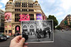 100年前と現代のパリを、写真でシンクロさせてみた | TABI LABO