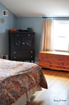Valspar Santorini Blue bedroom paint collor | Involving Color Paint Color Blog