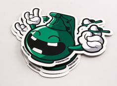 freshism Let's Party Stickers