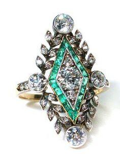 Art-Deco Diamond Ring