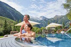 Wellness-Hochgefühle im Hotel Alpenhof ****S Hotel Alpenhof, Medical Wellness, Massage, Hotels, Sauna, Nature, Simple, Massage Therapy