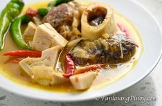 Kansi Recipe (Ilonggo Bulalo and Sinigang in one Delicious Soup Dish) - Kansi is the Ilonggo version of Bulalo and Sinigang combined. It is a type of beef soup with a sour broth. Beef shanks are often used to cook this dish. T