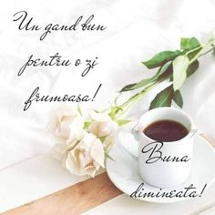 Good Morning, Tea Cups, Tableware, Coffee, Happy Sunday, Buen Dia, Kaffee, Dinnerware, Bonjour