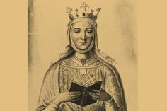 Eleanor of Aquitaine: Powerful Ruler in Medieval Europe: Engraving based on Eleanor of Aquitaine's tomb