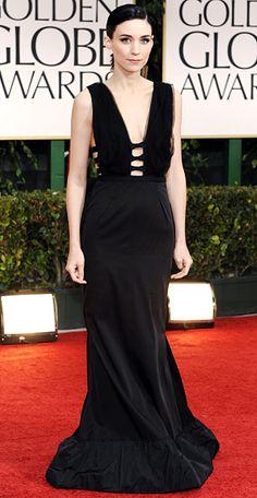 Rooney Mara in Nina Ricci (Golden Globes 2012)