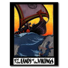 ==>>Big Save on          Lands of the Vikings Vintage Denmark Norway Travel Post Card           Lands of the Vikings Vintage Denmark Norway Travel Post Card in each seller & make purchase online for cheap. Choose the best price and best promotion as you thing Secure Checkout you can trust Buy ...Cleck Hot Deals >>> http://www.zazzle.com/lands_of_the_vikings_vintage_denmark_norway_travel_postcard-239774183444924108?rf=238627982471231924&zbar=1&tc=terrest