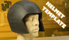 Bill shows a couple of simple techniques for creating a basic helmet template that can be adapted for nearly any costume headwear. Evil Ted's Tutorial https:. Cosplay Helmet, Cosplay Armor, Cosplay Dress, Thanos Costume, Punished Props, Eva Foam Armor, Astronaut Helmet, Cosplay Tutorial, Foam Crafts