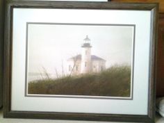 Framed print Windmill Art, Windmills, Lighthouses, White Wood, Woodworking, Framed Prints, Bedroom, Painting, Color