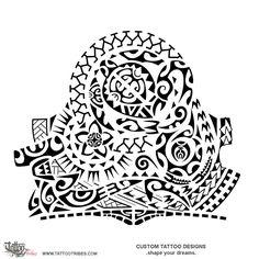 Tatuaggio di Taunaki, Supporto tattoo - custom tattoo designs on TattooTribes.com